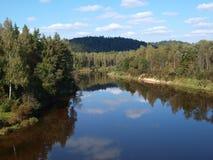 自然 拉脱维亚 免版税库存照片