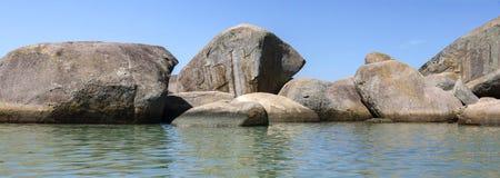自然水池Laranjeiras 库存图片