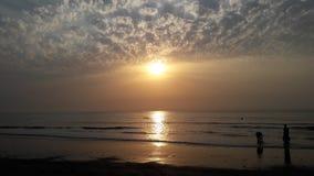 自然水海滩 库存照片