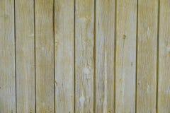 自然黄色木的板条纹理  免版税库存照片