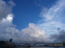 自然HK中央 免版税库存照片