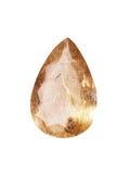自然Rutil石英 库存图片