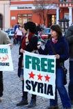 自由叙利亚 免版税库存图片