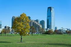 自由国家公园新泽西市 免版税库存照片