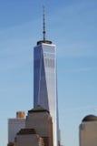 自由塔世界贸易中心,掀动转移 免版税库存照片
