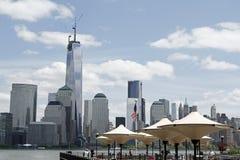 自由塔名列前茅1776英尺 免版税库存照片