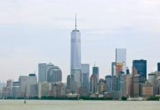 自由塔在曼哈顿, NYC 库存照片
