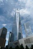 自由塔在更低的曼哈顿在纽约 库存照片