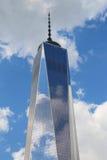 自由塔在更低的曼哈顿 库存图片