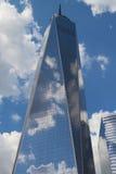 自由塔在更低的曼哈顿 免版税库存照片