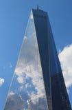 自由塔在更低的曼哈顿 图库摄影