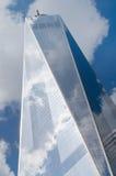 自由塔(1个WTC)在曼哈顿,纽约的标志 图库摄影