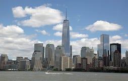 自由塔WTC,更低的曼哈顿 免版税库存图片