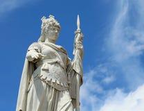 自由女神像在圣马力诺在中心的一小microstate 免版税库存照片