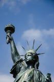 自由女神像复制品,尼斯,法国 免版税库存图片