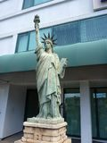 自由女神像复制品 免版税库存图片