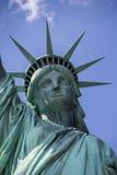 自由女神像特写镜头3 免版税库存照片