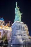 自由女神像的拉斯维加斯复制品 库存照片