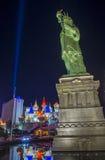 自由女神像的拉斯维加斯复制品 库存图片