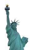 自由女神像隔绝了 免版税图库摄影