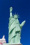 自由女神像雕象的相象在新的约克新的约克赌博娱乐场的 免版税库存图片