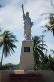 自由女神像,关岛, Hagatca,阿加尼亚 库存照片