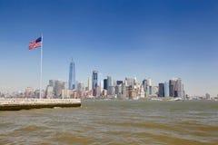 自由女神象,纽约 库存照片