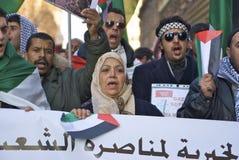 自由巴勒斯坦 免版税库存照片