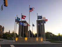 自由广场,亚特兰大, GA 免版税库存图片