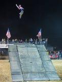 自由式牛仔摩托车越野赛 免版税图库摄影