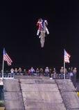 自由式牛仔摩托车越野赛 库存图片