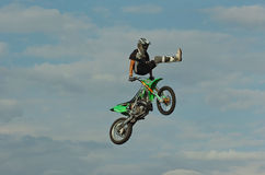 自由式kerling的moto tim 库存照片