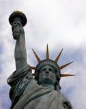 自由新的雕象约克 免版税库存图片