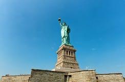 自由新的雕象约克 免版税库存照片