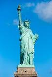 自由新的雕象美国约克 免版税库存照片