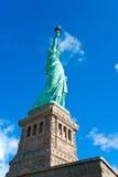 自由新的雕象美国约克 免版税库存图片