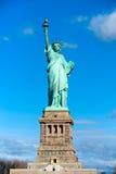 自由新的雕象美国约克 免版税图库摄影