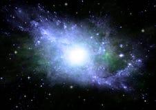 自由星系空间 免版税库存照片