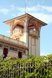 自由样式别墅在圣Benedetto del Tronto,马尔什,意大利 免版税库存照片