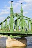 自由桥梁在匈牙利 免版税库存图片