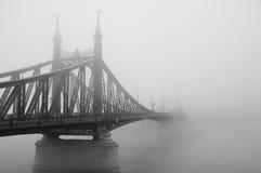自由桥梁在布达佩斯 免版税库存照片