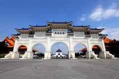 自由正方形在台北 免版税库存照片
