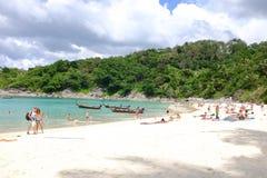自由海滩 库存图片