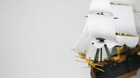 自由白色风帆  图库摄影