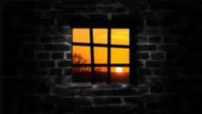 自由的剥夺的概念 在墙壁后每美好的生活 免版税图库摄影