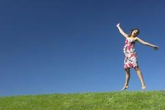自由的妇女 免版税库存照片