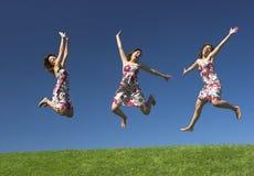 自由的妇女 免版税图库摄影