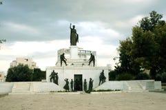 自由纪念碑或埃莱夫塞里娅纪念碑,尼科西亚 免版税库存照片