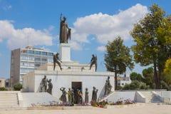 自由纪念碑,尼科西亚 免版税库存图片