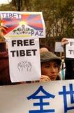 自由西藏 库存照片